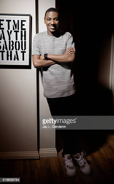 Comedian Jerrod Carmichael is photographed for Los Angeles Times on February 17 2016 in Los Angeles California PUBLISHED IMAGE CREDIT MUST READ Jay L...