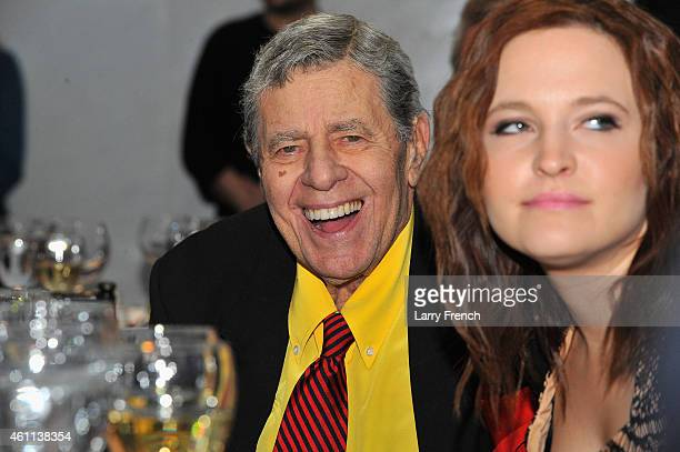 Comedian Jerry Lewis attends The Lincoln Awards A Concert For Veterans The Military Family presented by The Friars Foundation at John F Kennedy...