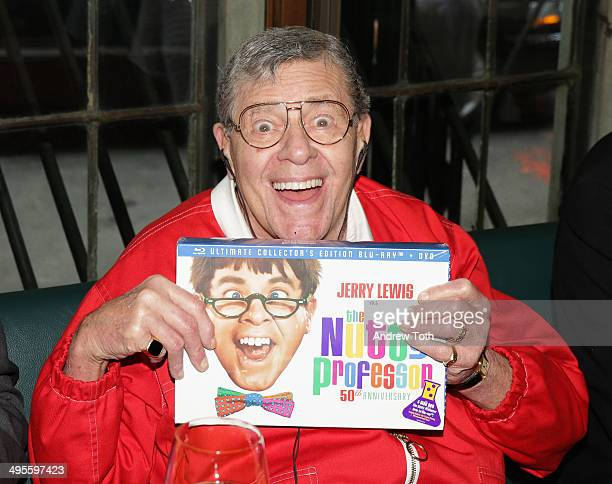 Comedian Jerry Lewis attends the SiriusXM Town Hall at The Friars Club on June 4 2014 in New York City
