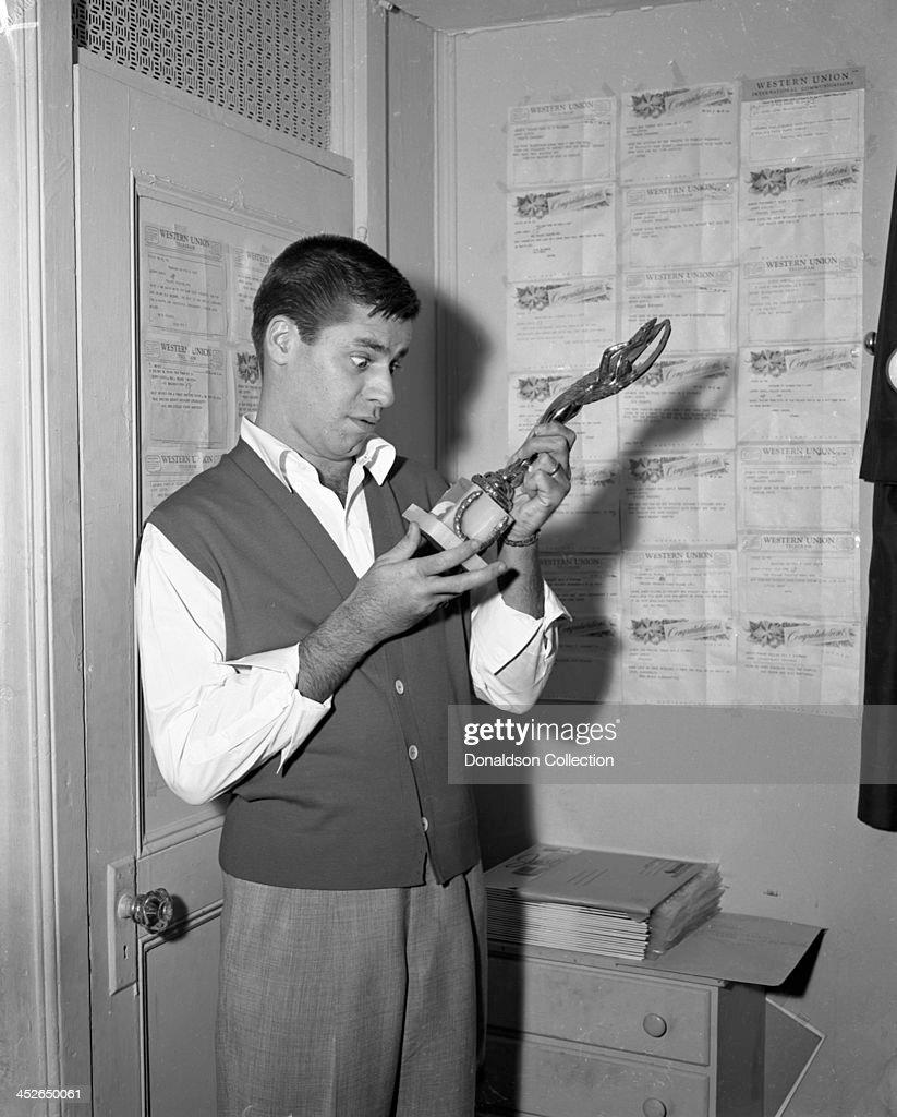 Jerry Lewis Show At The RKO Palace : Nachrichtenfoto