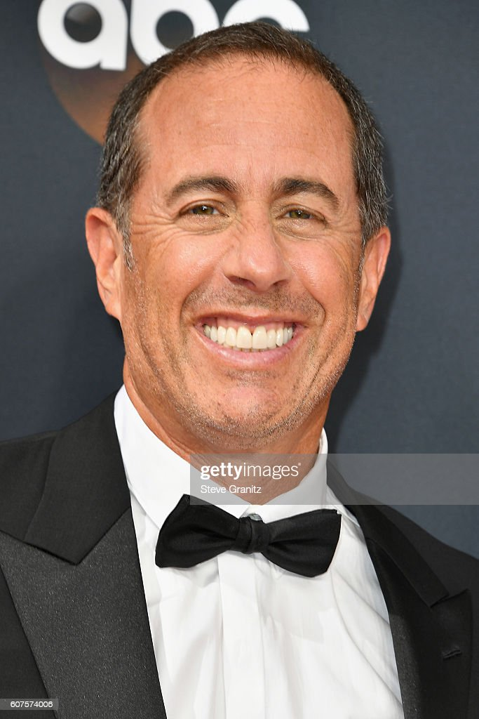 Comedian Jerry Seinfeld attends the 68th Annual Primetime Emmy Awards at Microsoft Theater on September 18, 2016 in Los Angeles, California.