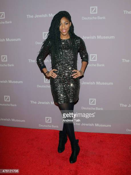 Comedian Jessica Williams attends the Jewish Museum's Purim Ball 2014 at Park Avenue Armory on February 26 2014 in New York City