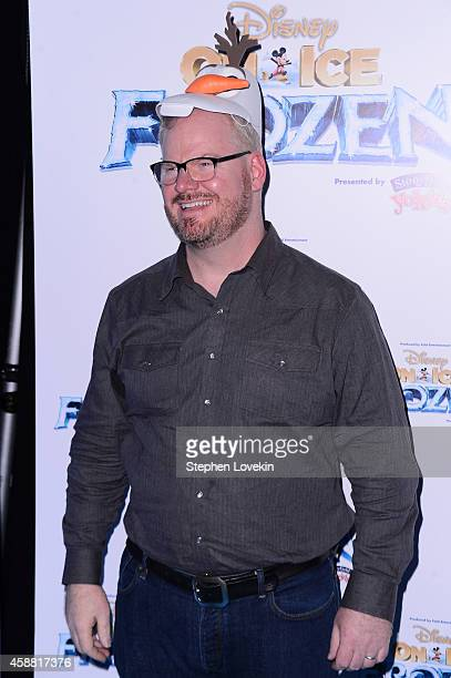 Comedian Jim Gaffigan attends Disney On Ice presents Frozen at Barclays Center on November 11 2014 in New York City