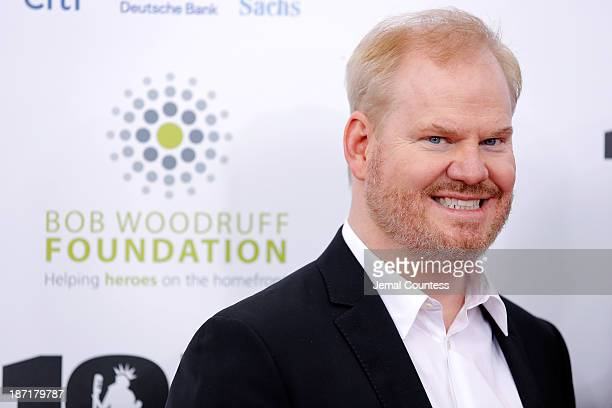 """Comedian Jim Gaffigan attends the 7th annual """"Stand Up For Heroes"""" event at Madison Square Garden on November 6, 2013 in New York City."""