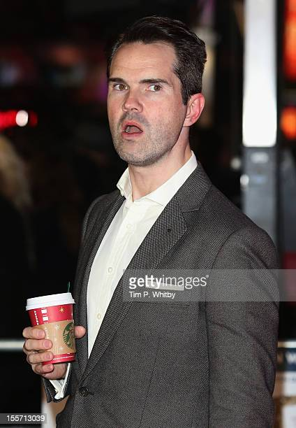 Comedian Jimmy Carr attends the World Premiere of Gambit at Empire Leicester Square on November 7 2012 in London England