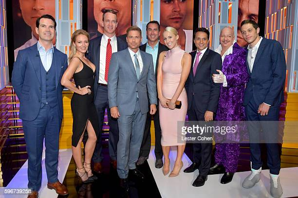 Comedian Jimmy Carr recording artist Jewel retired NFL player Peyton Manning honoree Rob Lowe actor Rob Riggle comedian Nikki Glaser actor Ralph...