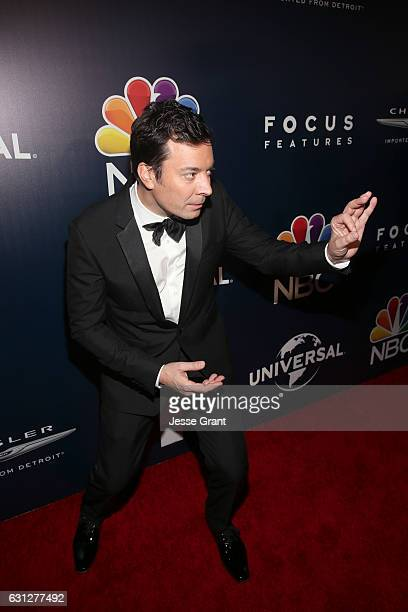 Comedian Jimmy Fallon attends NBCUniversal's 74th Annual Golden Globes After Party at The Beverly Hilton Hotel on January 8 2017 in Beverly Hills...