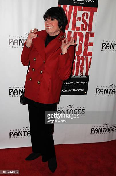 Comedian Jo Anne Worley attends the opening night of 'West Side Story' at the Pantages Theatre on December 1 2010 in Hollywood California