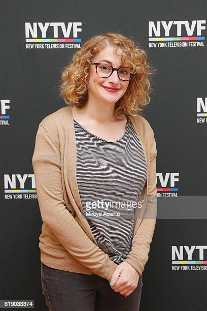 Comedian Jo Firestone attends the 12th Annual New York Television Festival at Helen Mills Theater on October 29 2016 in New York City