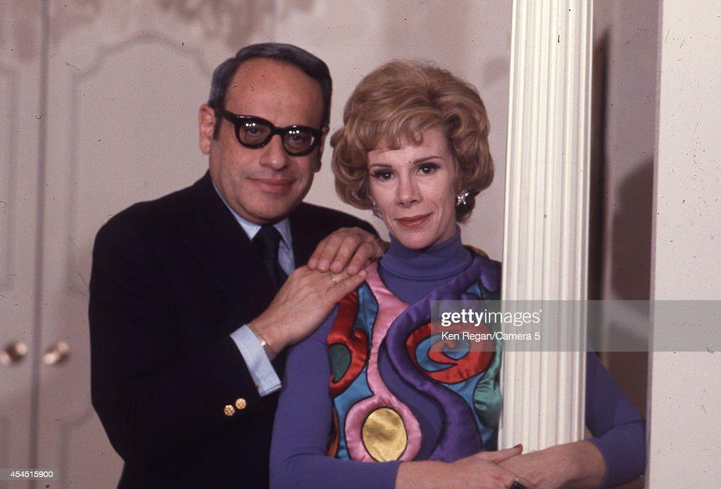 Joan Rivers and Edgar Rosenberg, Ken Regan, circa 1968 Photos and ...
