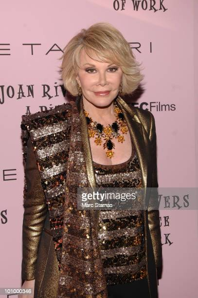 Joan Rivers A Piece Of Work Bilder Und Fotos