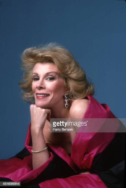 Comedian Joan Rivers is photographed for People Magazine in 1983 in New York City.
