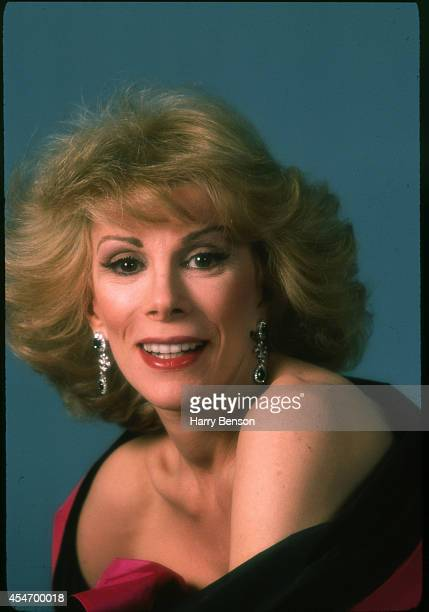 Comedian Joan Rivers is photographed for People Magazine in 1983 in New York City