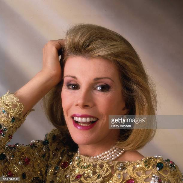 Comedian Joan Rivers is photographed for People Magazine in 1990 in New York City
