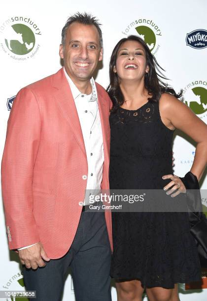 Comedian Joe Gatto and Bessy Gatto attend the 2018 Farm Sanctuary Gala at Pier Sixty at Chelsea Piers on October 4 2018 in New York City