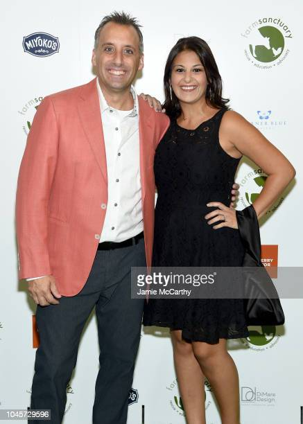Comedian Joe Gatto and Bessy Gatto attend the 2018 Farm Sanctuary on the Hudson gala at Pier 60 on October 4 2018 in New York City