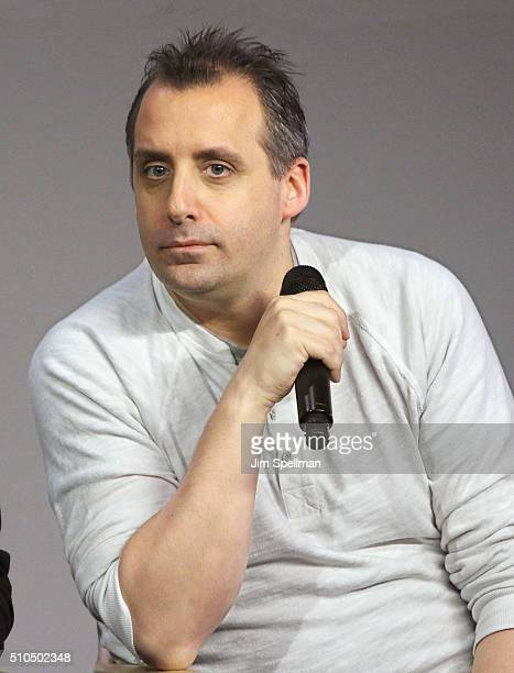 Comedian Joe Gatto attends Apple Store Soho Presents Meet The Impractical Jokers at Apple Store Soho on February 15 2016 in New York City