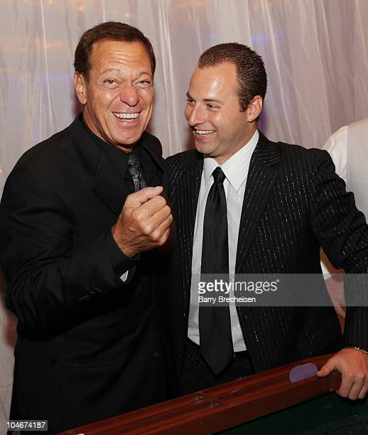 Comedian Joe Piscopo and Executive Director of Kids Fight Cancer Jim Pesoli attend the 26th Anniversary Kids Fight Cancer Fall Gala at Donald E....