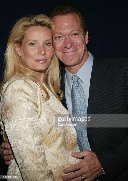 Comedian Joe Piscopo and pregnant wife Kimberly attend the Live From New York Its Wednesday Night on September 1 2004 at Cipriani's 42nd Street in...