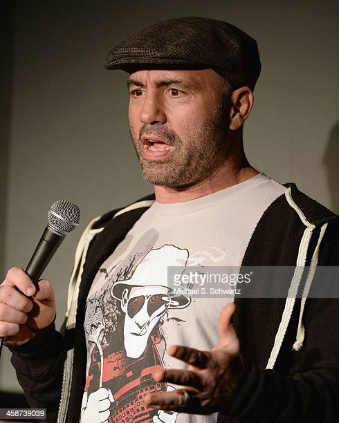 Comedian Joe Rogan performs during his appearance at The Ice House Comedy Club on December 20 2013 in Pasadena California