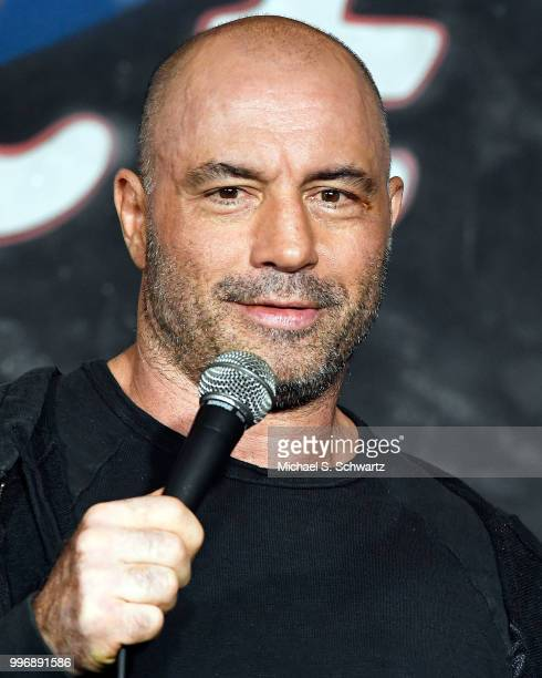 Comedian Joe Rogan performs during his appearance at The Ice House Comedy Club on July 11 2018 in Pasadena California