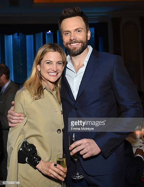 Comedian Joel McHale and Sarah Williams attend the 26th Annual Beat The Odds Awards hosted by Children's Defense Fund California at Regent Beverly...