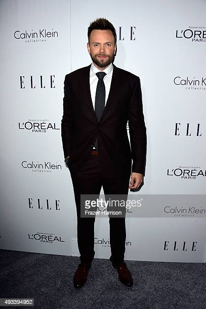Comedian Joel McHale attends the 22nd Annual ELLE Women in Hollywood Awards presented by Calvin Klein Collection L'Oréal Paris and David Yurman at...