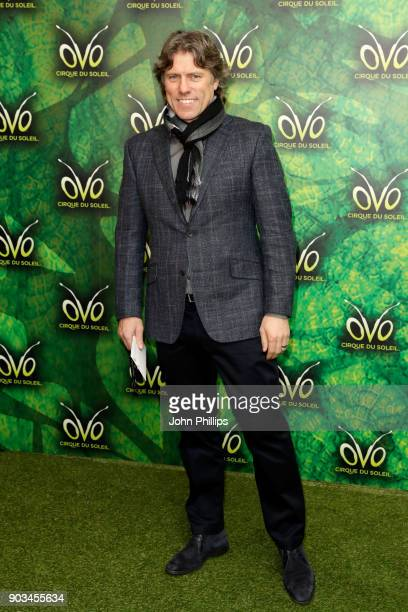 Comedian John Bishop attends the Cirque du Soleil OVO premiere at Royal Albert Hall on January 10 2018 in London England