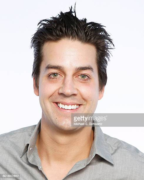 Comedian John Crist poses after his performance at The Ice House Comedy Club on December 17 2015 in Pasadena California