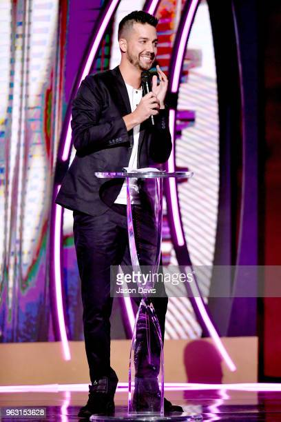 Comedian John Crist speaks onstage during the 6th Annual KLOVE Fan Awards at The Grand Ole Opry on May 27 2018 in Nashville Tennessee