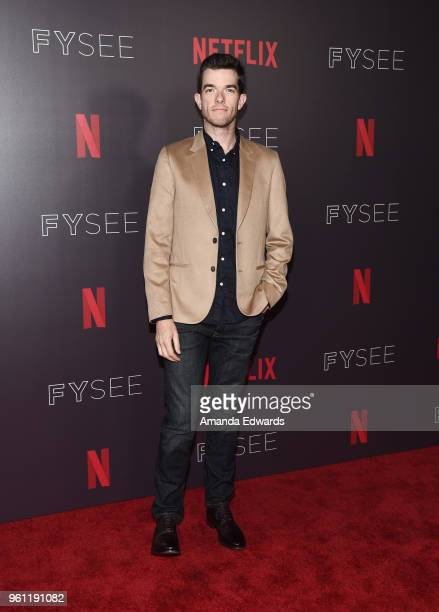 Comedian John Mulaney arrives at the #NETFLIXFYSEE Animation Panel featuring Big Mouth and BoJack Horseman at the Netflix FYSEE At Raleigh Studios on...