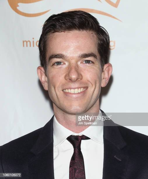 Comedian John Mulaney attends A Funny Thing Happened on the Way to Cure Parkinson's 2018 at the Hilton New York on November 10 2018 in New York City