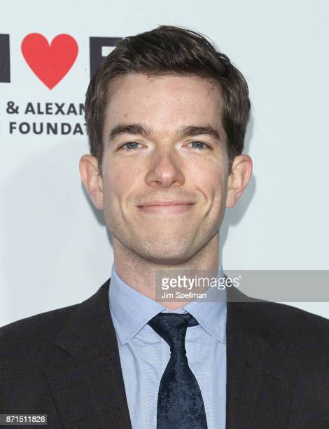 Comedian John Mulaney attends the 11th Annual Stand Up for Heroes at The Theater at Madison Square Garden on November 7 2017 in New York City