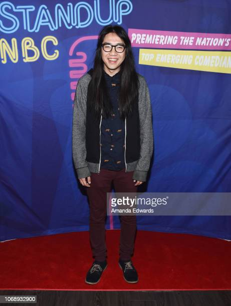 Comedian John Nguyen attends the 15th Annual 'StandUp NBC' Finale at the Hollywood Improv on December 5 2018 in Hollywood California