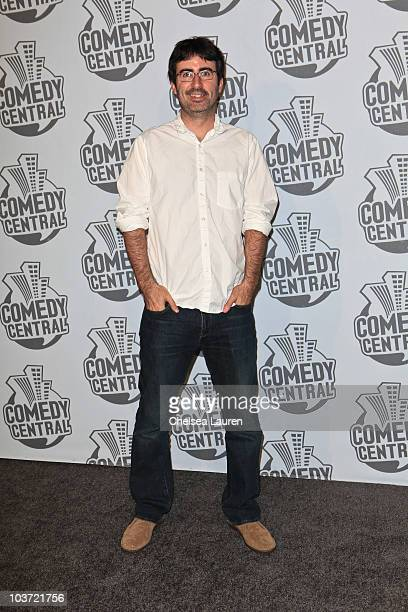 Comedian John Oliver arrives at Comedy Central's 62nd Annual Emmy After Party at The Colony on August 29 2010 in Los Angeles California