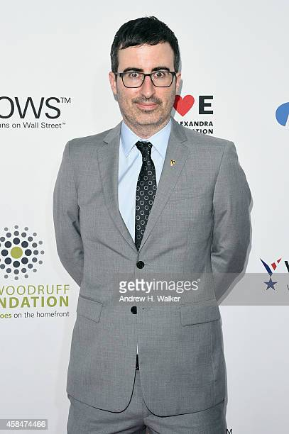 Comedian John Oliver attends 2014 Stand Up For Heroes at Madison Square Garden on November 5 2014 in New York City