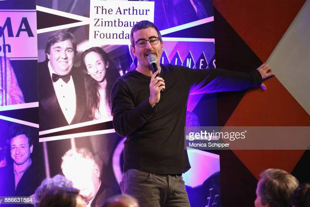 Comedian John Oliver attends the Scleroderma Research Foundation's 30th Anniversary Cool Comedy Hot Cuisine at Caroline's Comedy Club on December 5...