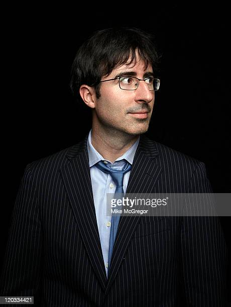 Comedian John Oliver is photographed for The Observer Magazine on July 20 2011 in New York City