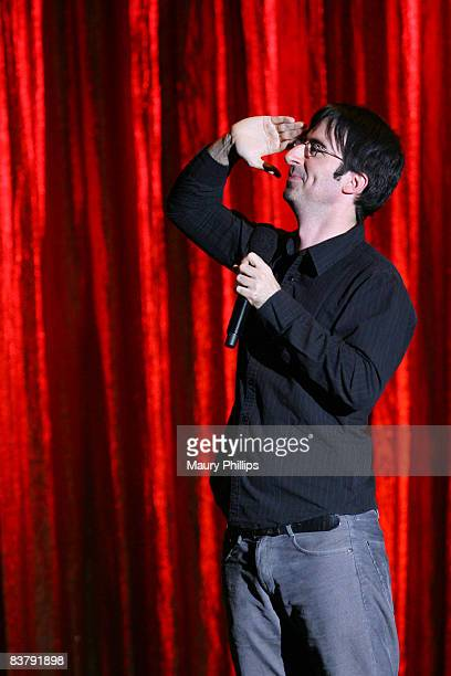 Comedian John Oliver performs on stage at John Oliver Friends during The Comedy Festival 2008 presented by TBS at Caesars Palace on November 22 2008...