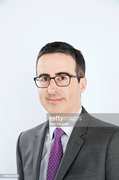 Comedian John Oliver poses for a portrait at The 74th Annual Peabody Awards Ceremony at Cipriani Wall Street on May 31 2015 in New York City
