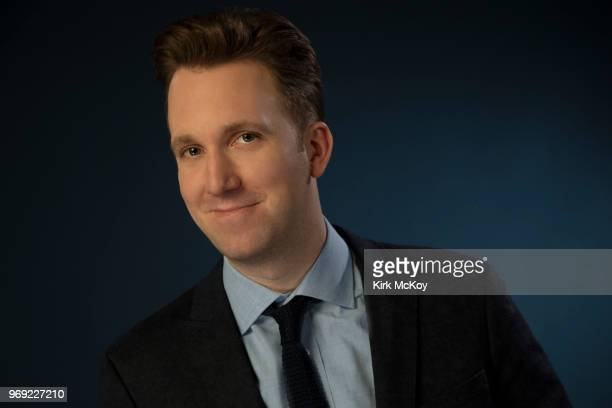 Comedian Jordan Klepper is photographed for Los Angeles Times on May 21 2018 in Los Angeles California PUBLISHED IMAGE CREDIT MUST READ Kirk...