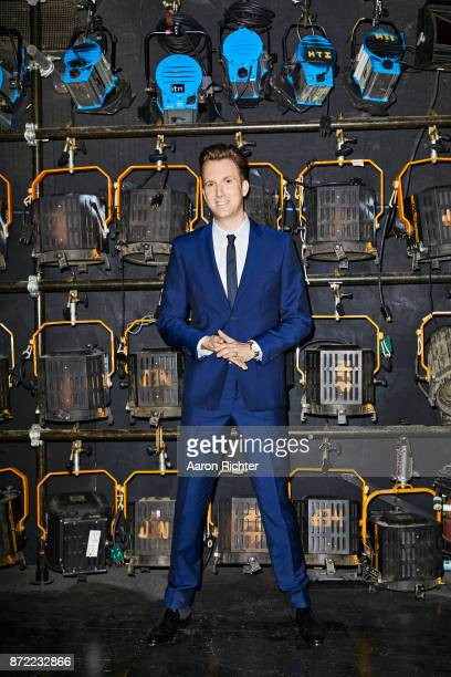 Comedian Jordan Klepper is photographed for The Hollywood Reporter on September 1 2017 backstage of his Comedy Central Show The Opposition in New...