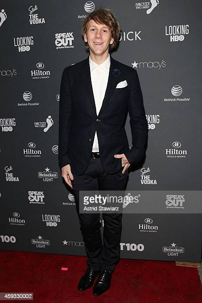 Comedian Josh Thomas attends Out100 2014 presented by Buick on November 20 2014 in New York City