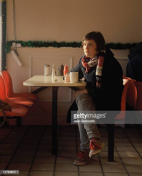 Comedian Josie Long is photographed for the Independent on December 19 2007 in London England