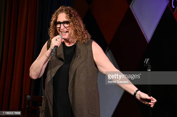 Comedian Judy Gold speaks onstage during Ms Foundation For Women's 24th Comedy Night at Carolines on Broadway on January 13 2020 in New York City