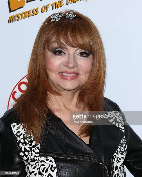 Comedian Judy Tenuta attends Cassandra Peterson's launch party for her new book 'Elvira Mistress Of The Dark' at The Hollywood Roosevelt Hotel on...