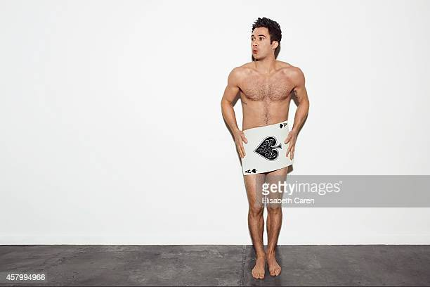Comedian Justin Willman is photographed for Self Assignment on December 9 2013 in Los Angeles California
