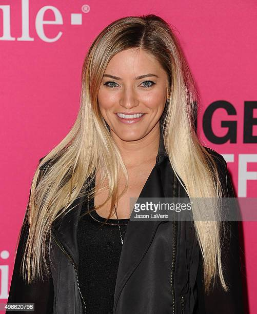 Comedian Justine Ezarik aka iJustine attends the T-Mobile Un-carrier X launch at The Shrine Auditorium on November 10, 2015 in Los Angeles,...
