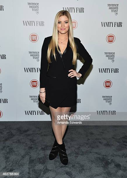 Comedian Justine Ezarik arrives at the Vanity Fair and Fiat Toast to 'Young Hollywood' in support of the Terrence Higgins Trust at No Vacancy on...