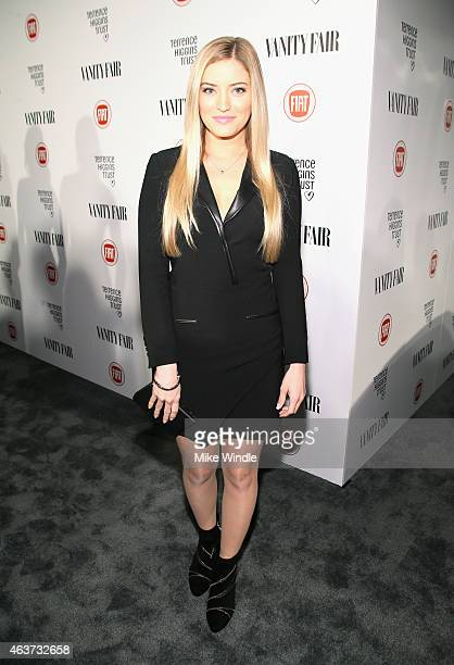 Comedian Justine Ezarik attends Vanity Fair and FIAT celebration of Young Hollywood, hosted by Krista Smith and James Corden, to benefit the Terrence...